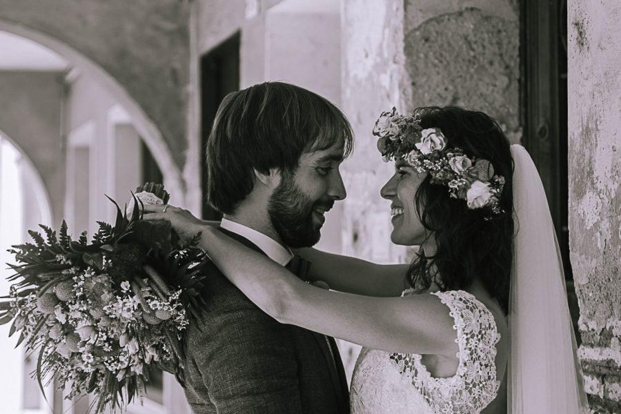 Un matrimonio tra le vigne