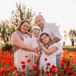 fotografo stefania montin famiglia bambine papaveri padova