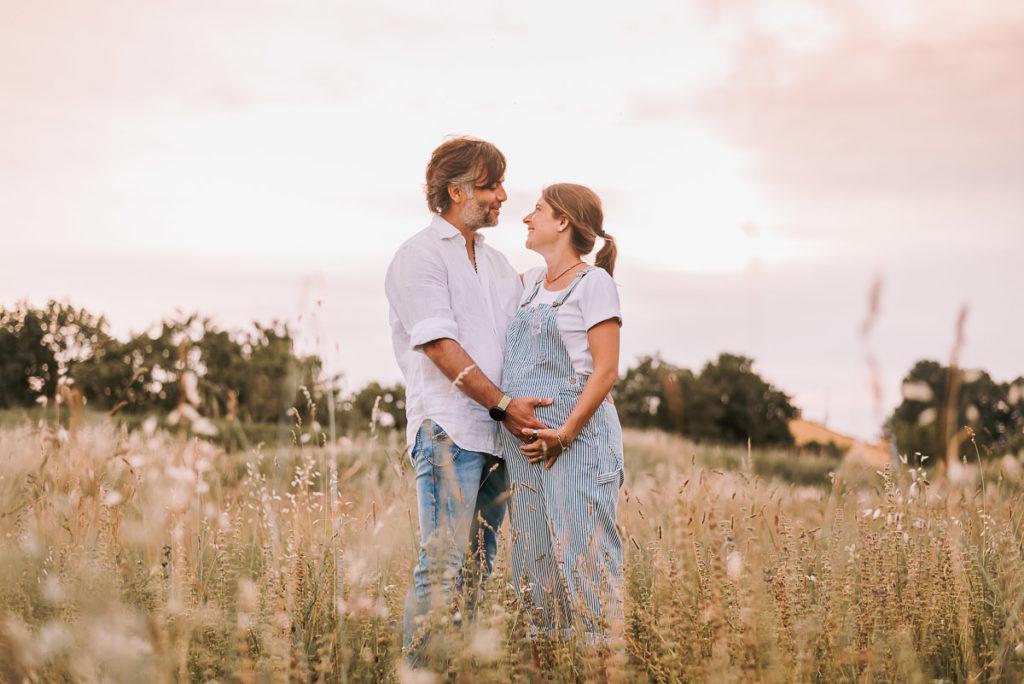 fotografo stefania montin gravidanza coppia padova