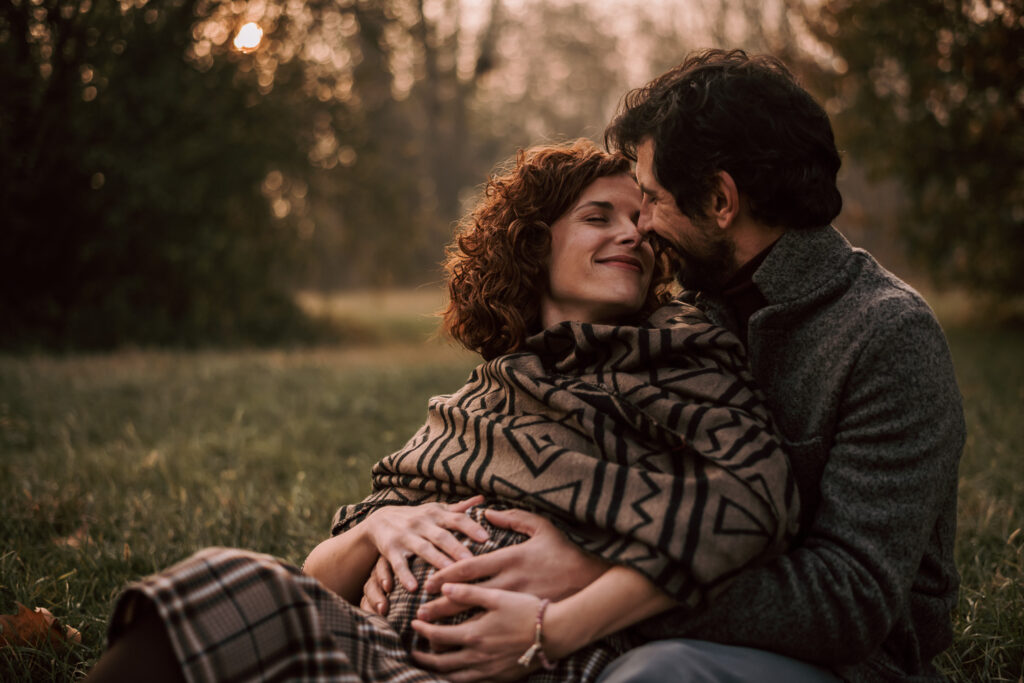 Gravidanza maternità coppia in attesa