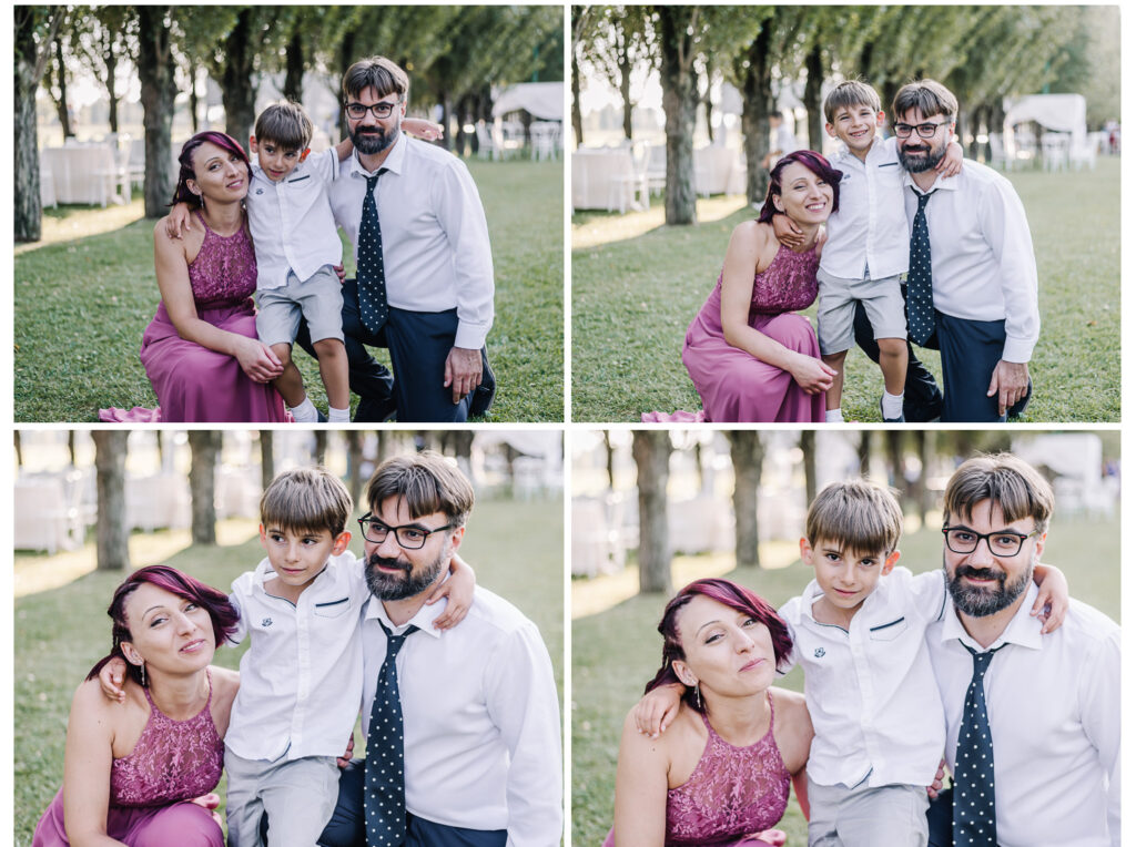 foto invitati matrimonio Veneto