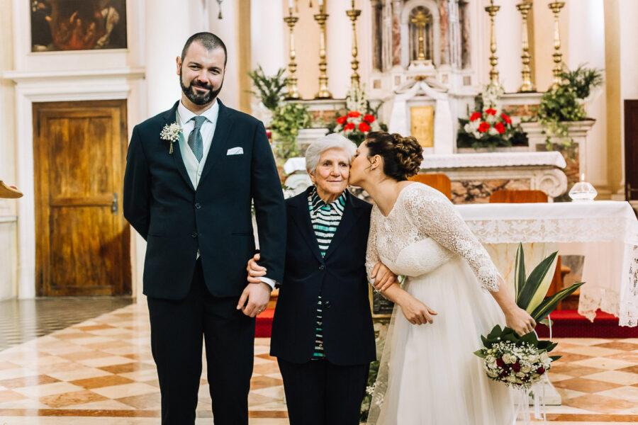 E la foto con la nonna l'abbiamo fatta?