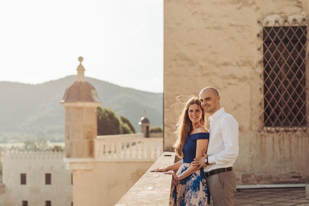 coppia al Castello