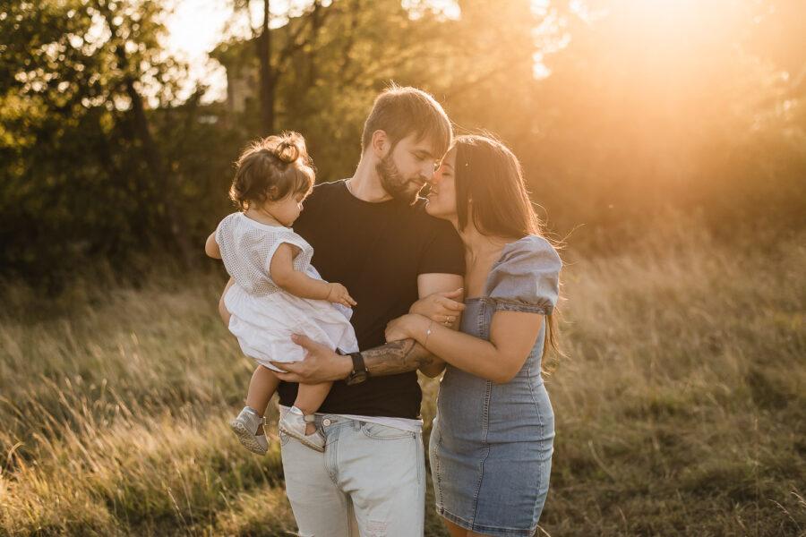 Servizio fotografico di famiglia a Este